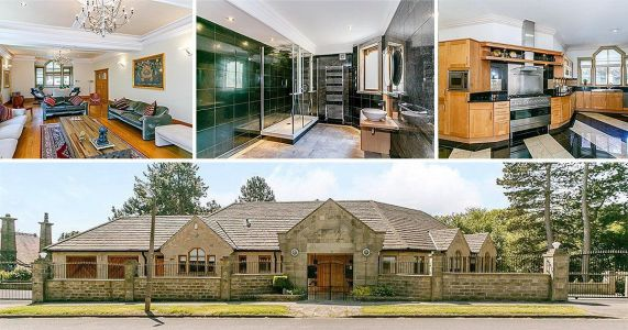 Bradford bungalow has a six-bedroom mansion underneath it and it looks like it belongs in Beverly Hills