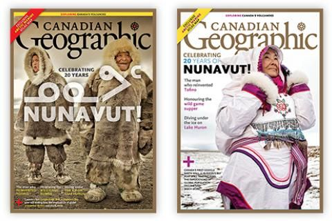 Help us choose the March/April 2019 Canadian Geographic cover!