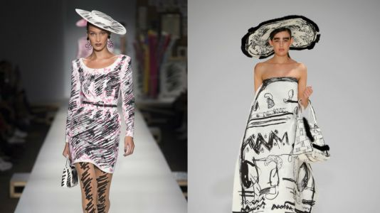 Did Jeremy Scott Copy This Emerging Designer in His Spring 2019 Moschino Collection?
