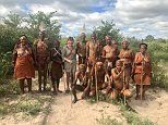 Lorraine Kelly's wild time in South Africa