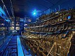 Stern of Henry VIII's favourite warship the Mary Rose to go on display