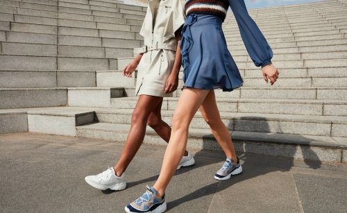 Longchamp releases its first ever sneaker collection, the Freeminder
