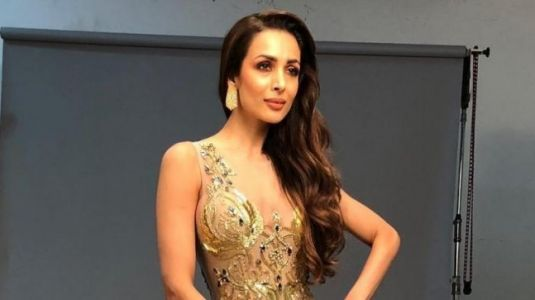Malaika Arora looks breathtaking in gold sheer gown. See pic