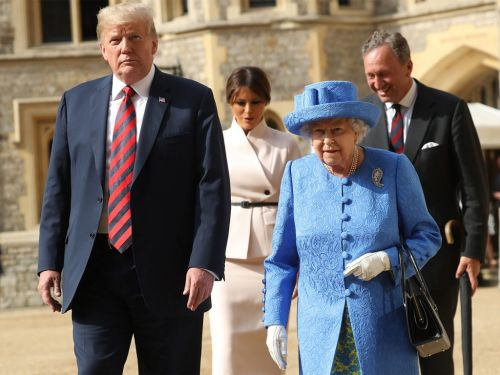 Was The Queen Trolling Donald Trump With Her Brooches?