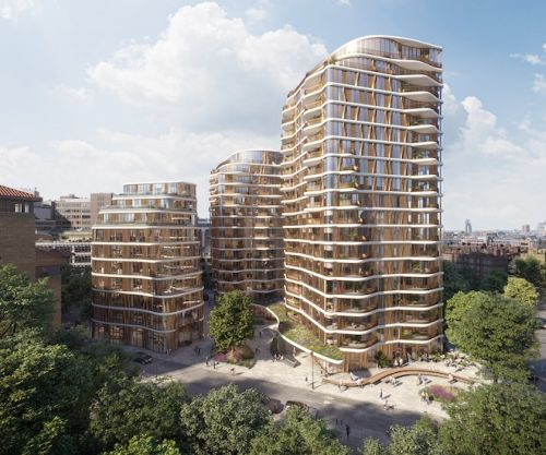London's Vibrant South Bank Welcomes Luxury Architectural Destination: Triptych Bankside