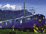 Take the slow train to the heart of Africa on board the Blue Train from Cape Town to Pretoria