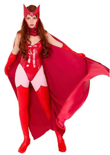 Here's Where to Get Wanda's Exact Scarlet Witch Costume From WandaVision's Halloween Episode