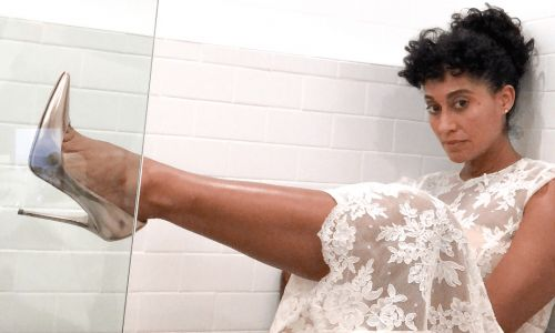 Tracee Ellis Ross Demonstrates How to Wear White Lace Without Looking Like A Bride