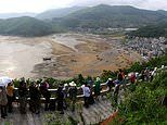 How Chinese villagers fake scenes for tourists desperate for photographs of a rural paradise
