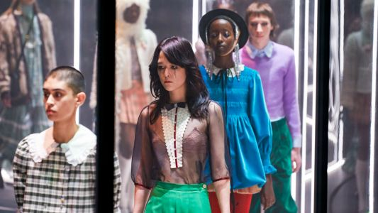 Alessandro Michele Turns the Gucci Fall 2020 Fashion Show Into Theatre in the Round