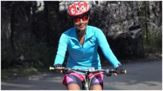 Ankita Konwar thanks Indian Army for her cycling expedition from Baramulla to Uri. Read post