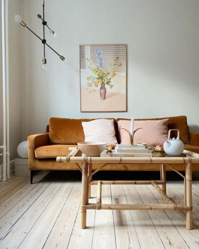 A Danish Home with Pops of Pastel