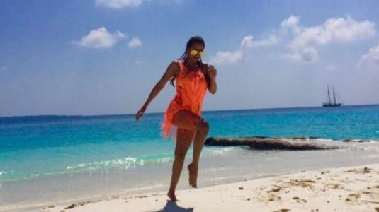 Malaika Arora shares pic from Maldives holiday in sexy beachwear. Boyfriend Arjun Kapoor hearts it