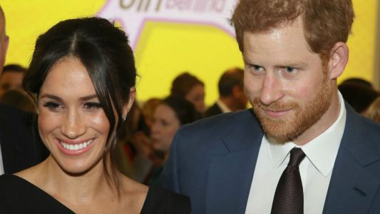 Meghan Markle Wore a Thing: Black Halo LBD Edition