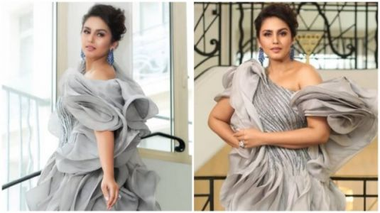 Cannes 2019: Huma Qureshi channels her inner goddess in stunning silver gown. See pics