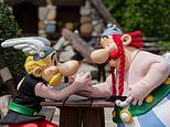 Inside the thrilling Parc Asterix theme park - just three hours south of Calais