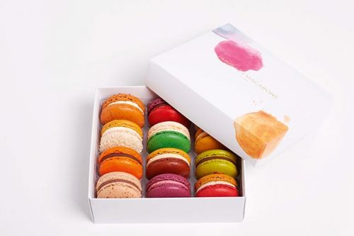Be in to win one of three boxes of a dozen macarons from J'aime les Macarons