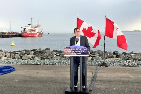 Fisheries Minister Jonathan Wilkinson on the future of Canada's oceans