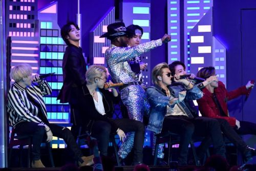 BTS Came Along for the Wild 'Old Town Road' Ride in Lil Nas X's Grammys Performance & We Stan
