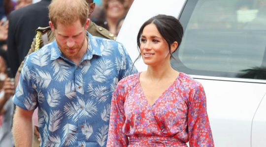 Meghan Markle Wore a Thing: Figue Dress in Fiji Edition
