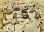 Welsh mining women of the 19th century who toiled for 12 hours a day