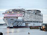 Royal Caribbean's new cruise ship, which will be the biggest in the world when it launches in 2022