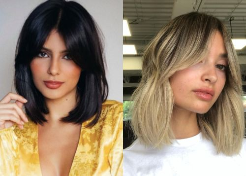 Yes, You Can Pull Off Short Hair With Curtain Bangs