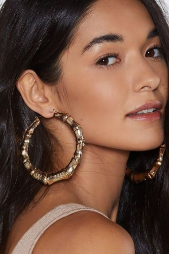 Hoop Earrings So Truly Massive You Could Probably Fit Your Head Through Them