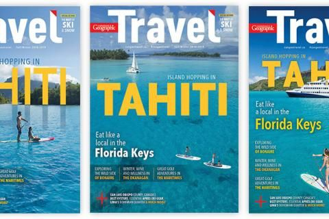 Help us choose the Fall/Winter 2018-2019 Canadian Geographic Travel cover!