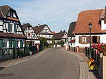 Hunspach in Alsace is the winner of the most beautiful village in France competition