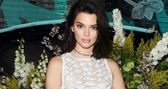 Great Outfits in Fashion History: Kendall Jenner in a Slightly Scandalous White Dress