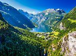 Exclusive for Mail on Sunday readers: Cruise Norway's fjords with TV's Hairy Bikers