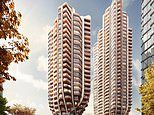 Architects design incredible 384ft-tall tree-shaped skyscrapers for Vancouver