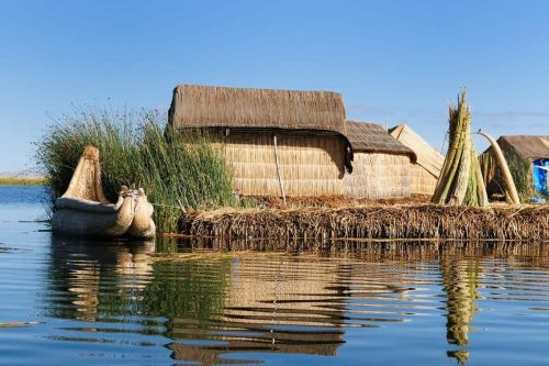A Visit to the Uros Floating Islands in Lake Titicaca