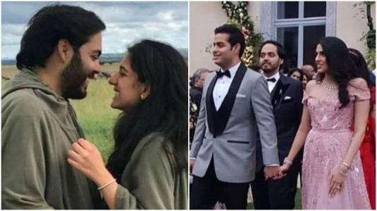 Anant Ambani and Radhika Merchant hold hands at Lake Como. See video