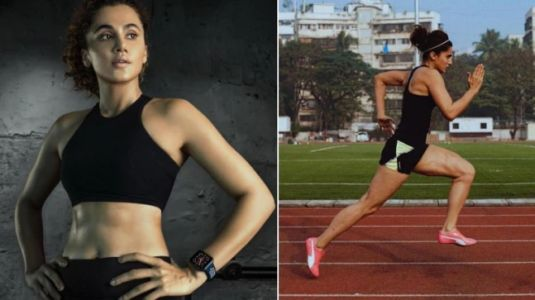 5 Taapsee Pannu athleisure looks to borrow if you're hitting the gym. On Fashion Friday