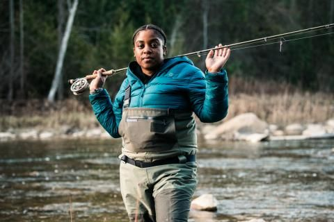 Colour the Trails: Taking up space with Demiesha Dennis
