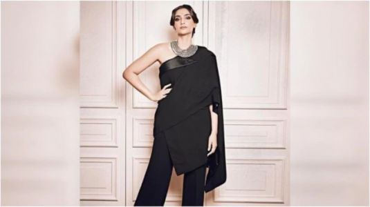 Sonam Kapoor pulls off tuxedo sari like a boss at Jean Paul Gaultier's final couture show in Paris