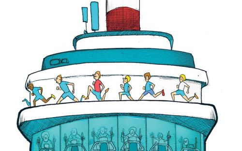 How to get fitter on a cruise