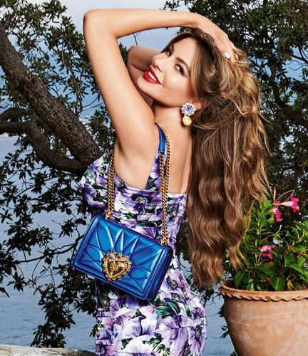 Sophia Vergara is The New Face of Devotion by Dolce and Gabbana