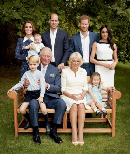The Cute New Family Portrait Released By The Royals In Honour Of Charles' 70th