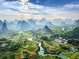 Stunning images show the breathtakingly diverse landscapes of China