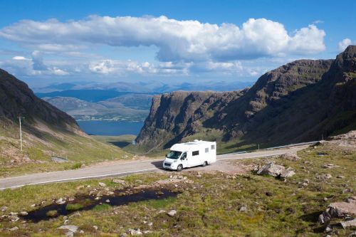 Find the freedom of the road: 9 uncrowded places for a campervan trip in the UK