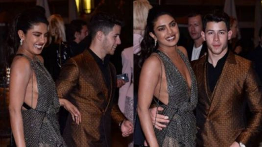 Cannes 2019: Priyanka Chopra sets French Riviera on fire in sheer thigh-slit dress with Nick Jonas