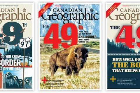Help us choose the September/October 2018 Canadian Geographic cover!