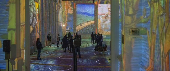 How 'Immersive Van Gogh' Puts You Inside the Paintings and the Artist's Mind