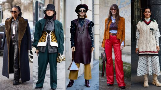 Showgoers Mastered the Art of Layering on Day 5 of Paris Fashion Week