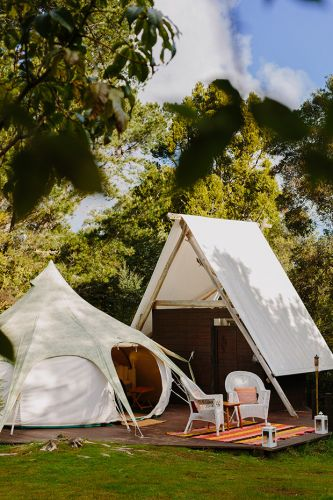 Be in to win a glamping weekend for two at the Wild Forest Estate, valued at $400