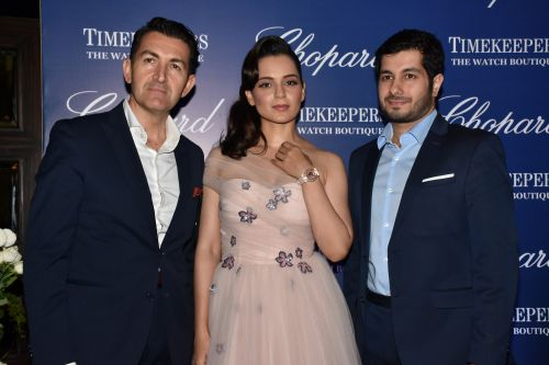 Chopard celebrated their 25th Anniversary with a cocktail hosted by Timekeepers