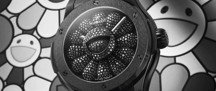 Takashi Murakami and Hublot's Limited Edition Watch Blends Pop With Luxury